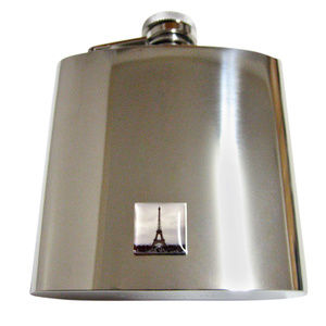French Iconic Eiffel Tower Large Flask